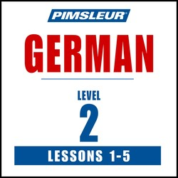 Pimsleur German Level 2 Lessons  1-5 MP3