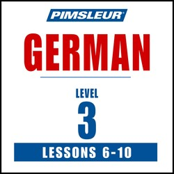 Pimsleur German Level 3 Lessons  6-10 MP3