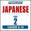 Pimsleur Japanese Level 2 Lessons  6-10 MP3