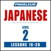 Pimsleur Japanese Level 2 Lessons 16-20 MP3