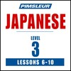 Pimsleur Japanese Level 3 Lessons  6-10 MP3