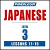 Pimsleur Japanese Level 3 Lessons 11-15 MP3