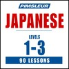 Pimsleur Japanese Levels 1-3 MP3