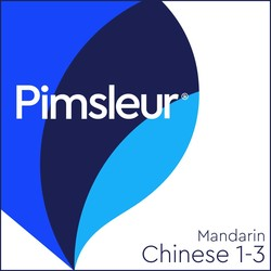 Pimsleur Chinese (Mandarin) Levels 1-3 MP3