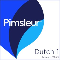 Pimsleur Dutch Level 1 Lessons 21-25 MP3