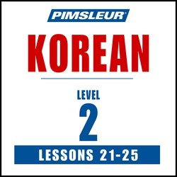 Korean Phase 2, Unit 21-25