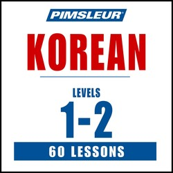 Pimsleur Korean Levels 1-2 MP3