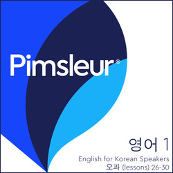 Pimsleur English for Korean Speakers Level 1 Lessons 26-30 MP3
