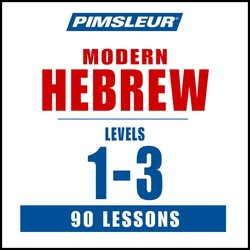 Pimsleur Hebrew Levels 1-3 MP3