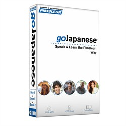 Pimsleur goJapanese Course - Level 1 Lessons 1-8 CD