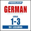 Pimsleur German Levels 1-3 MP3
