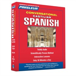 Pimsleur Spanish (Castilian) Conversational Course - Level 1 Lessons 1-16 CD