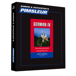 Pimsleur German Level 4 CD