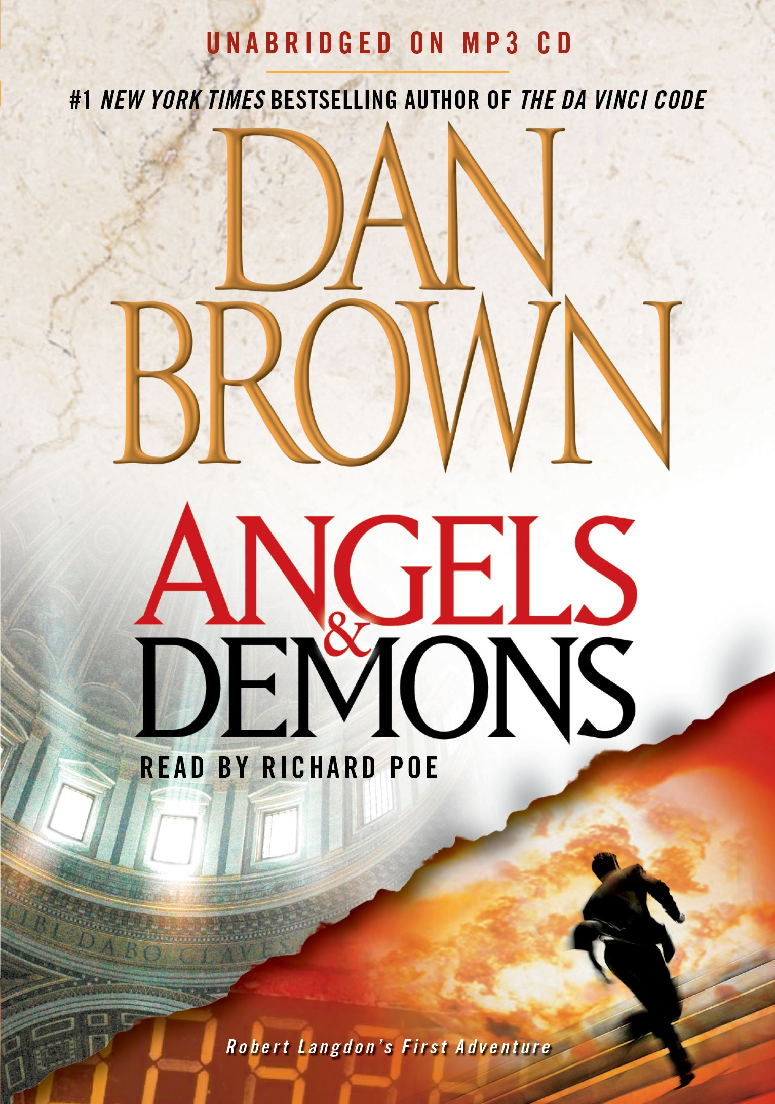 Angels demons audiobook on cd by dan brown richard poe angels demons 9781442365476 hr buycottarizona