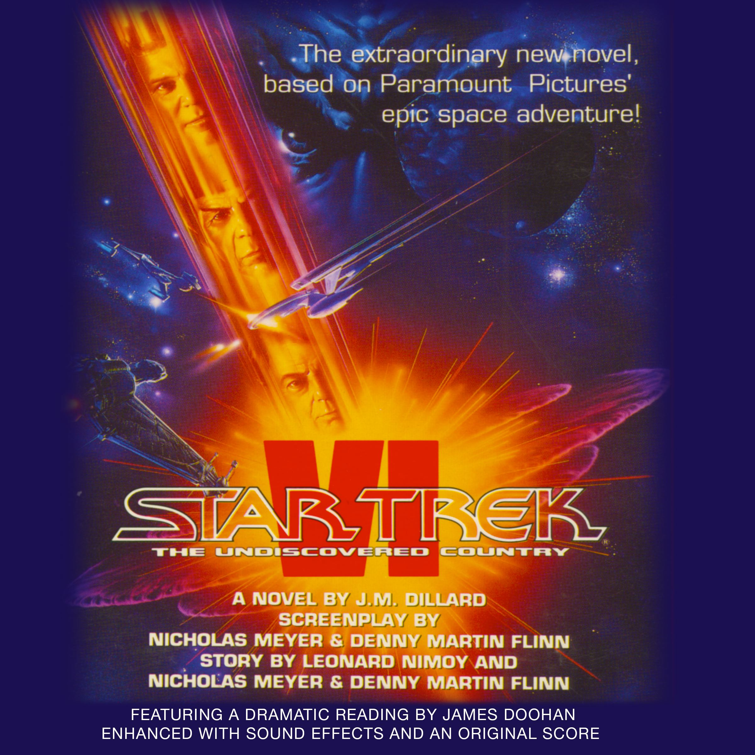 Star trek vi the undiscovered country 9781442368286 hr
