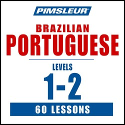 Pimsleur Portuguese (Brazilian) Levels 1-2 MP3