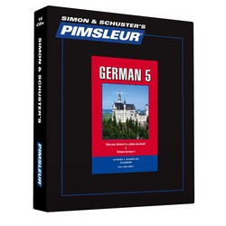 Pimsleur German Level 5 CD