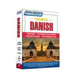 Pimsleur Danish Basic Course - Level 1 Lessons 1-10 CD