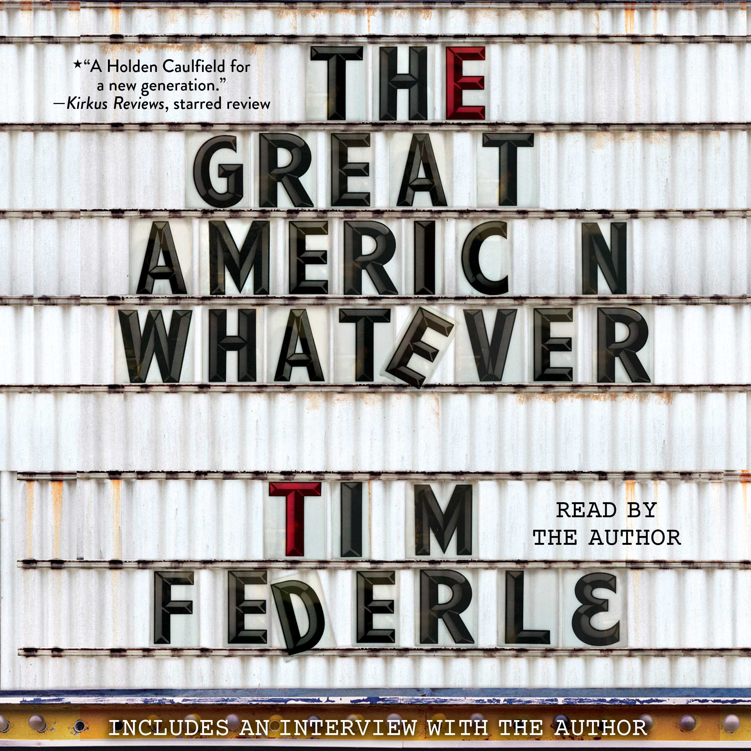 The great american whatever 9781442395015 hr