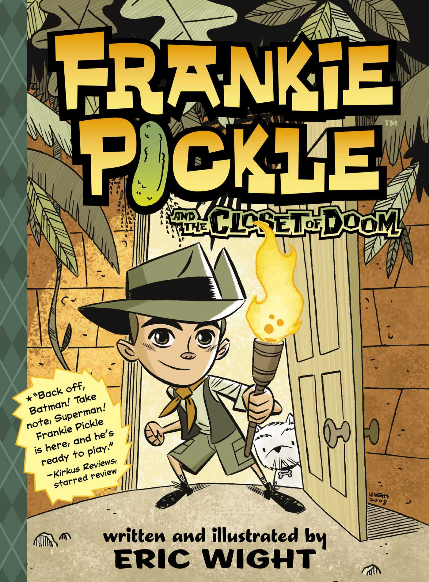 Frankie pickle and the closet of doom 9781442413078 hr