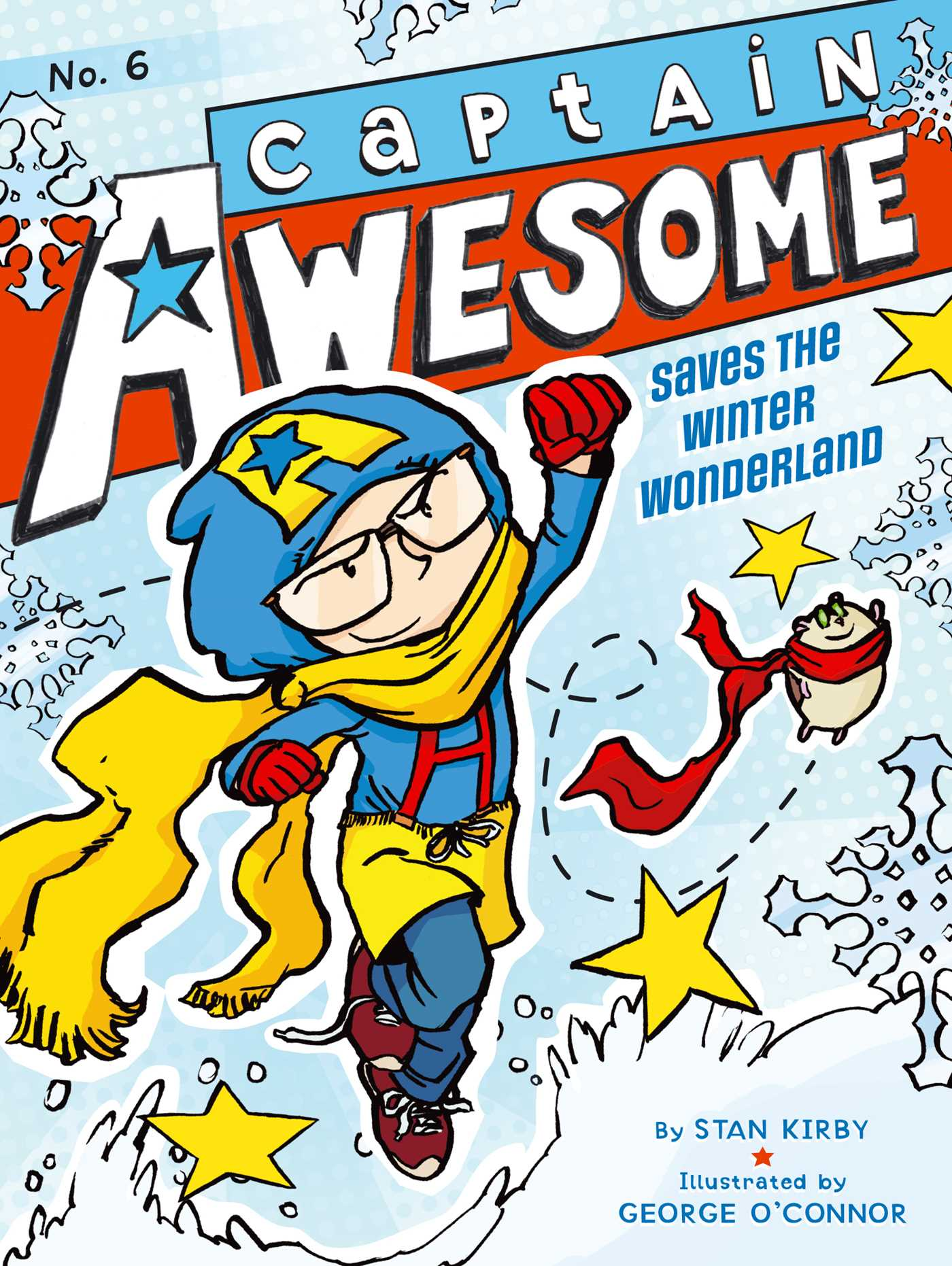 Captain awesome saves the winter wonderland 9781442443365 hr