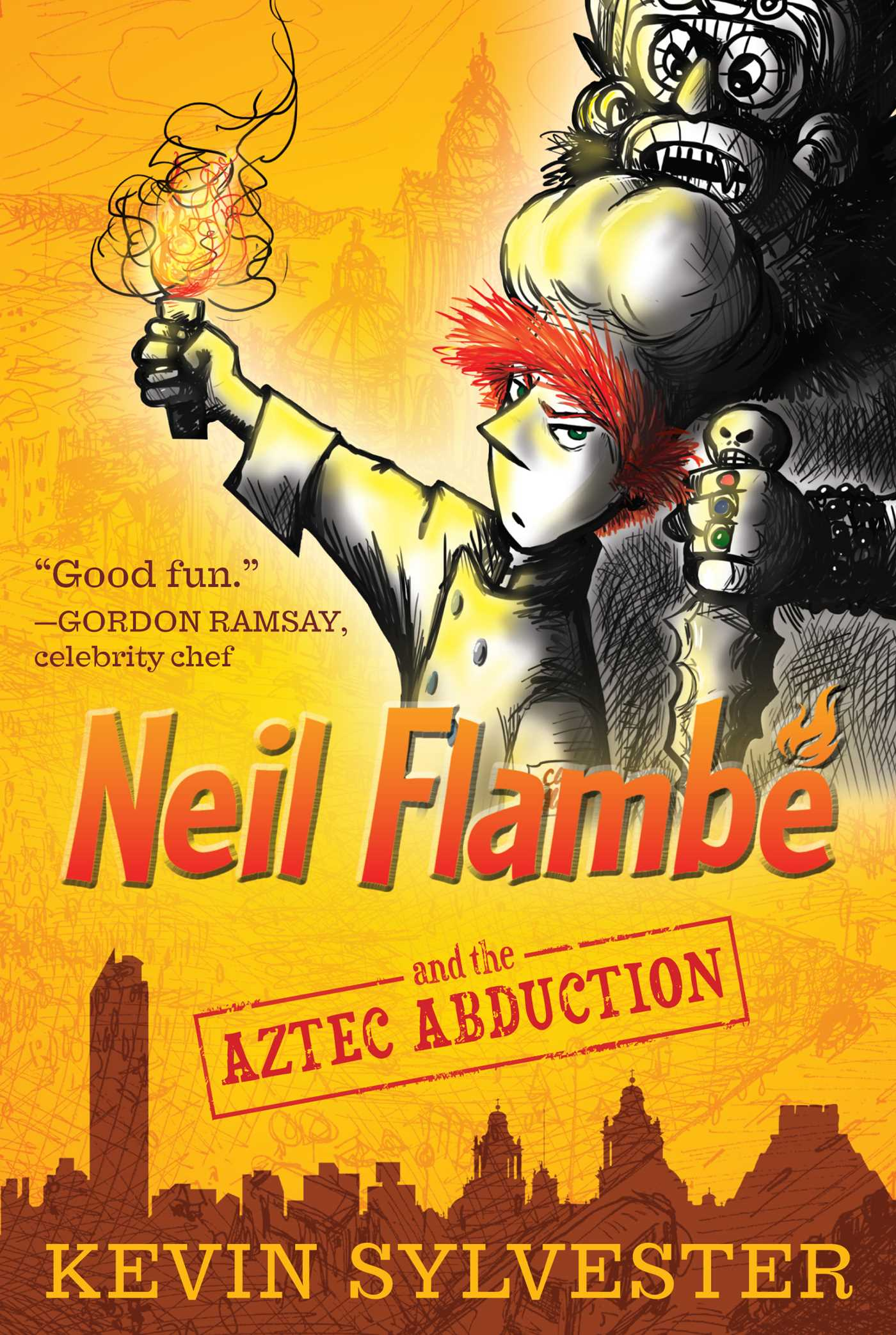 Neil flambe and the aztec abduction 9781442446083 hr