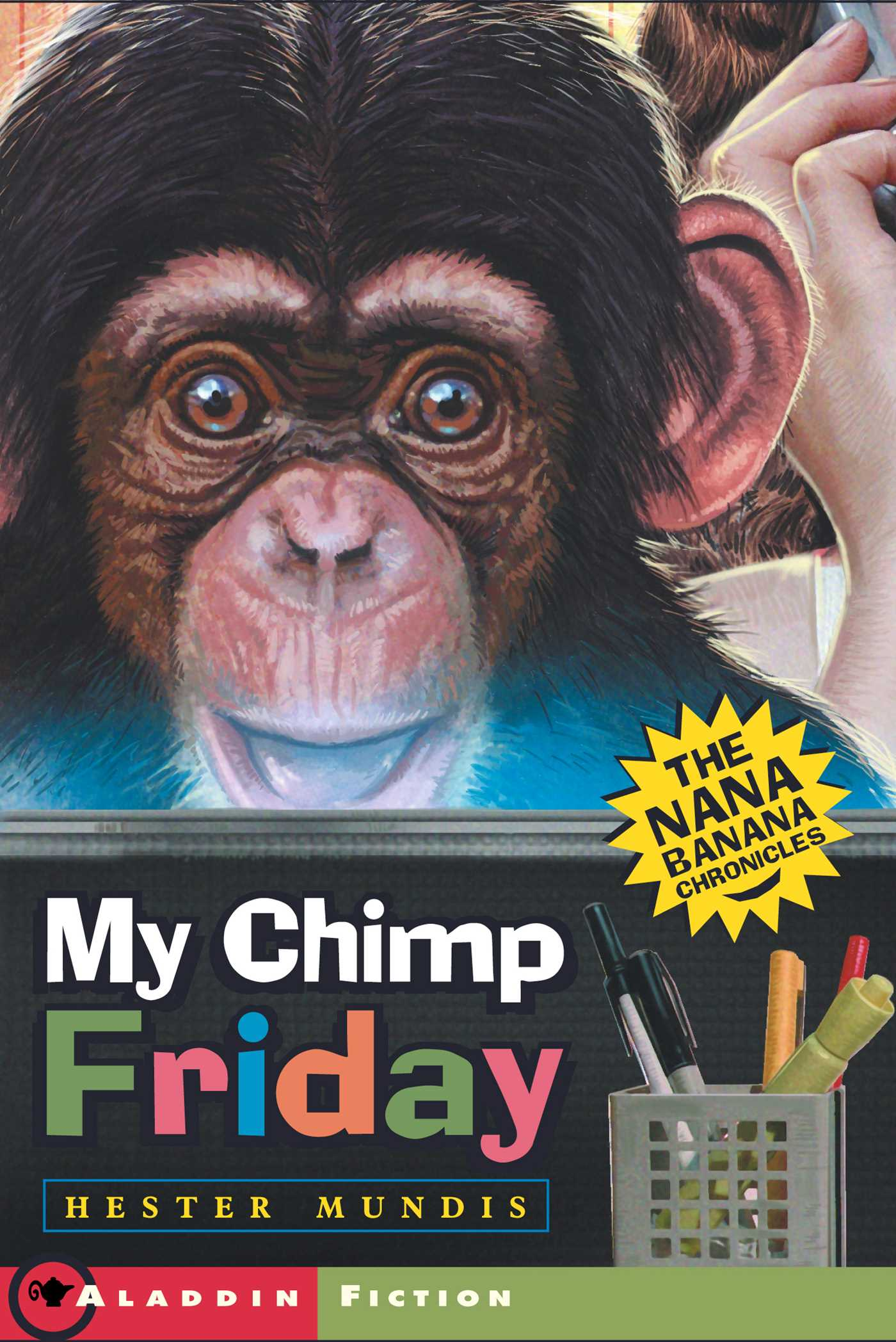 My chimp friday 9781442446304 hr