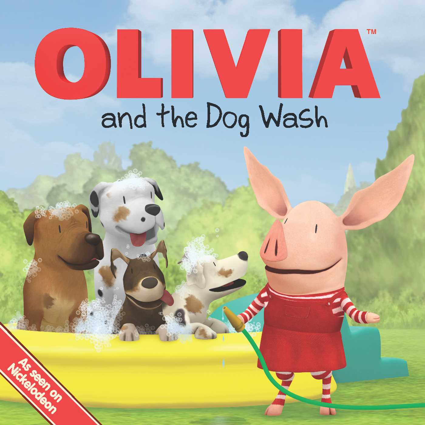 Olivia and the dog wash 9781442446397 hr
