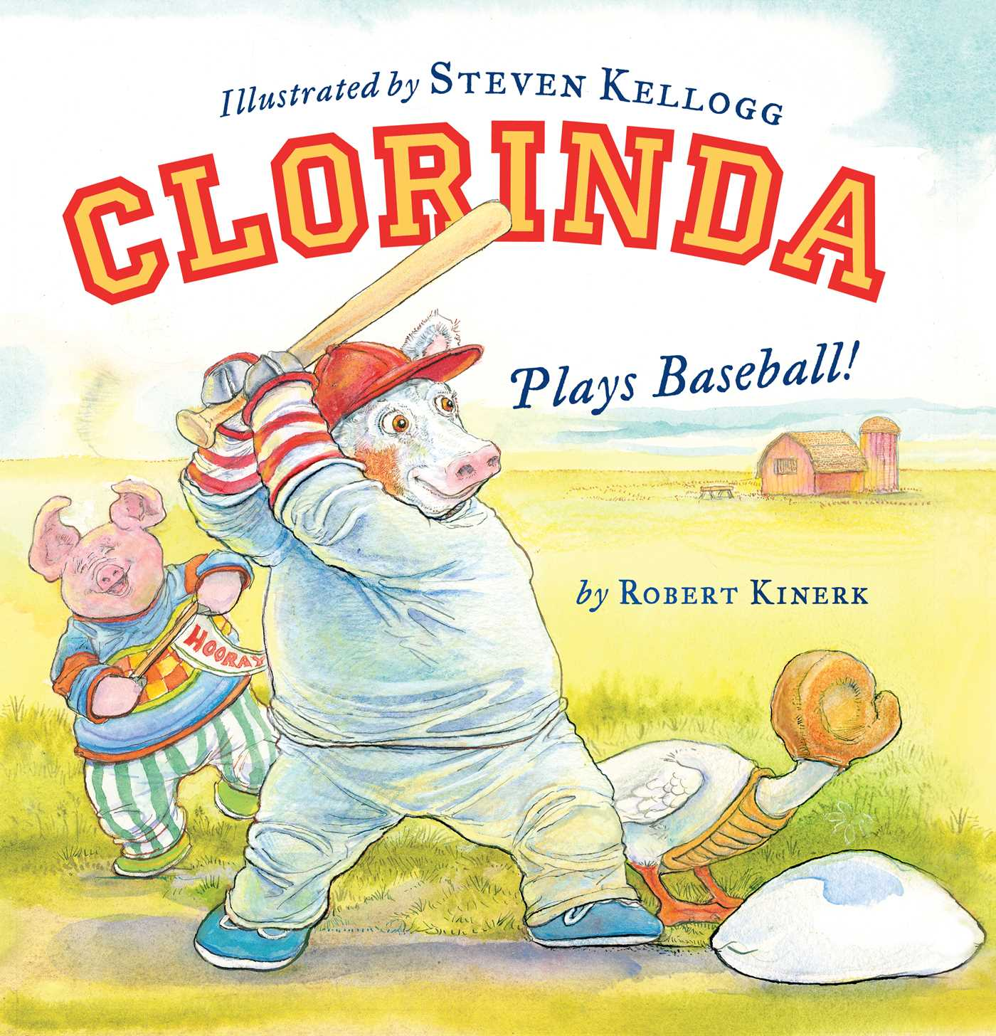 Clorinda plays baseball 9781442449923 hr