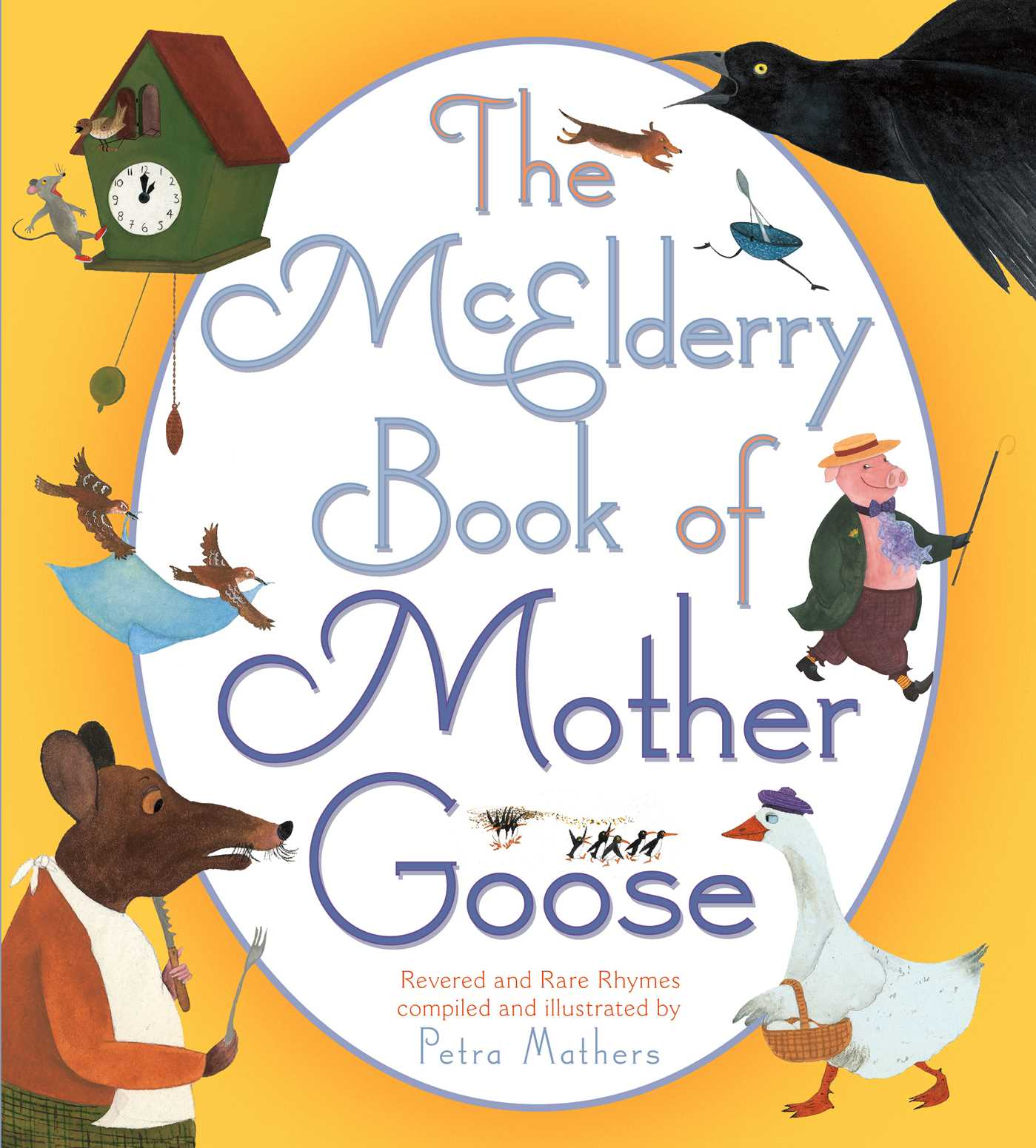 The mcelderry book of mother goose 9781442453142 hr