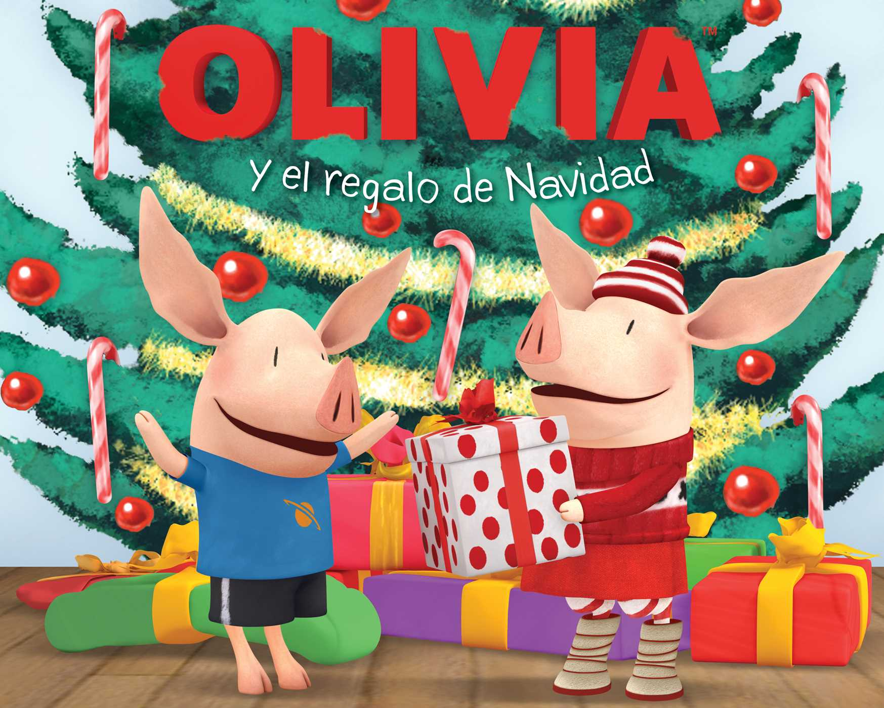 Olivia y el regalo de navidad olivia and the christmas present 9781442465701 hr