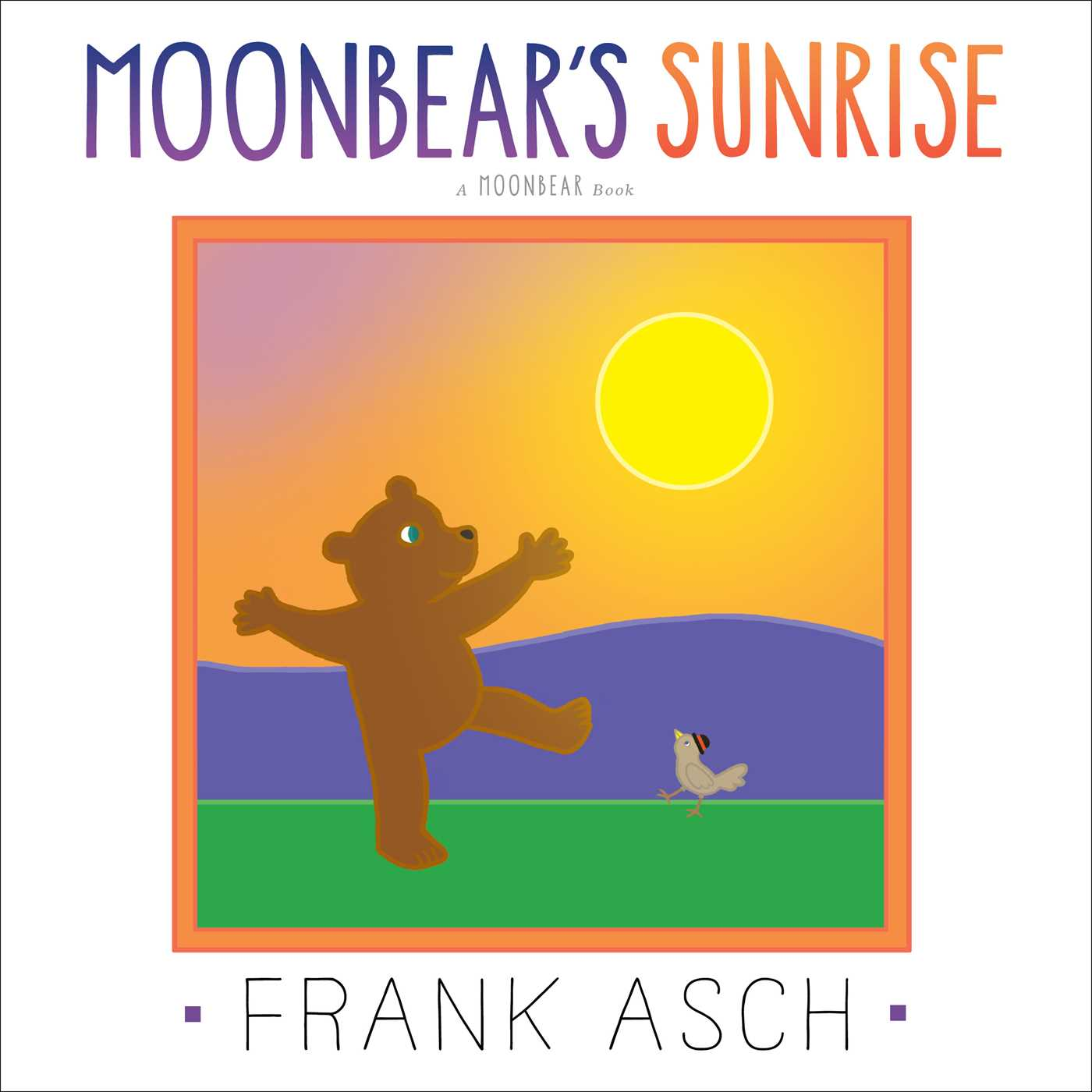 Moonbears sunrise 9781442466487 hr