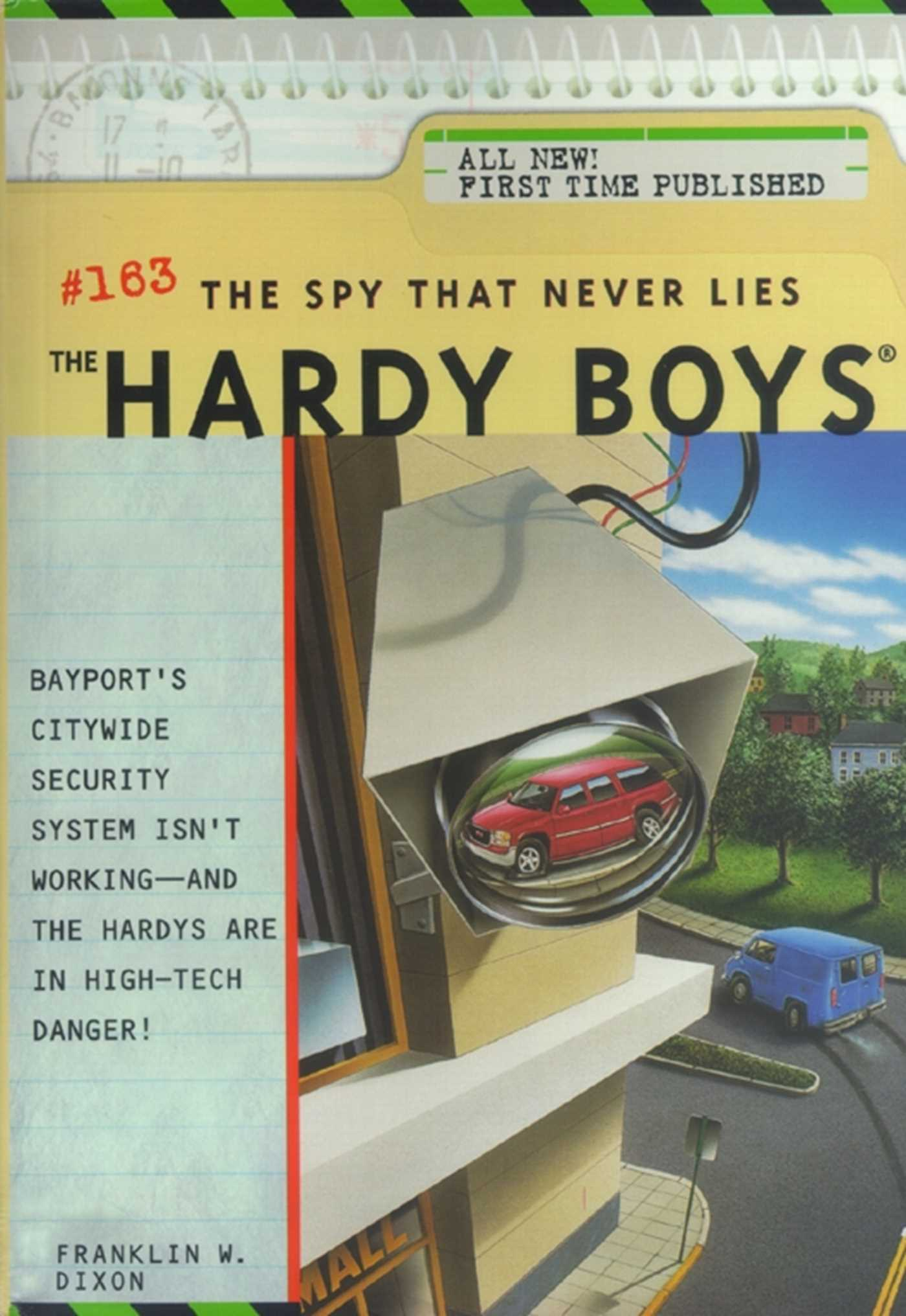 The spy that never lies 9781442472280 hr