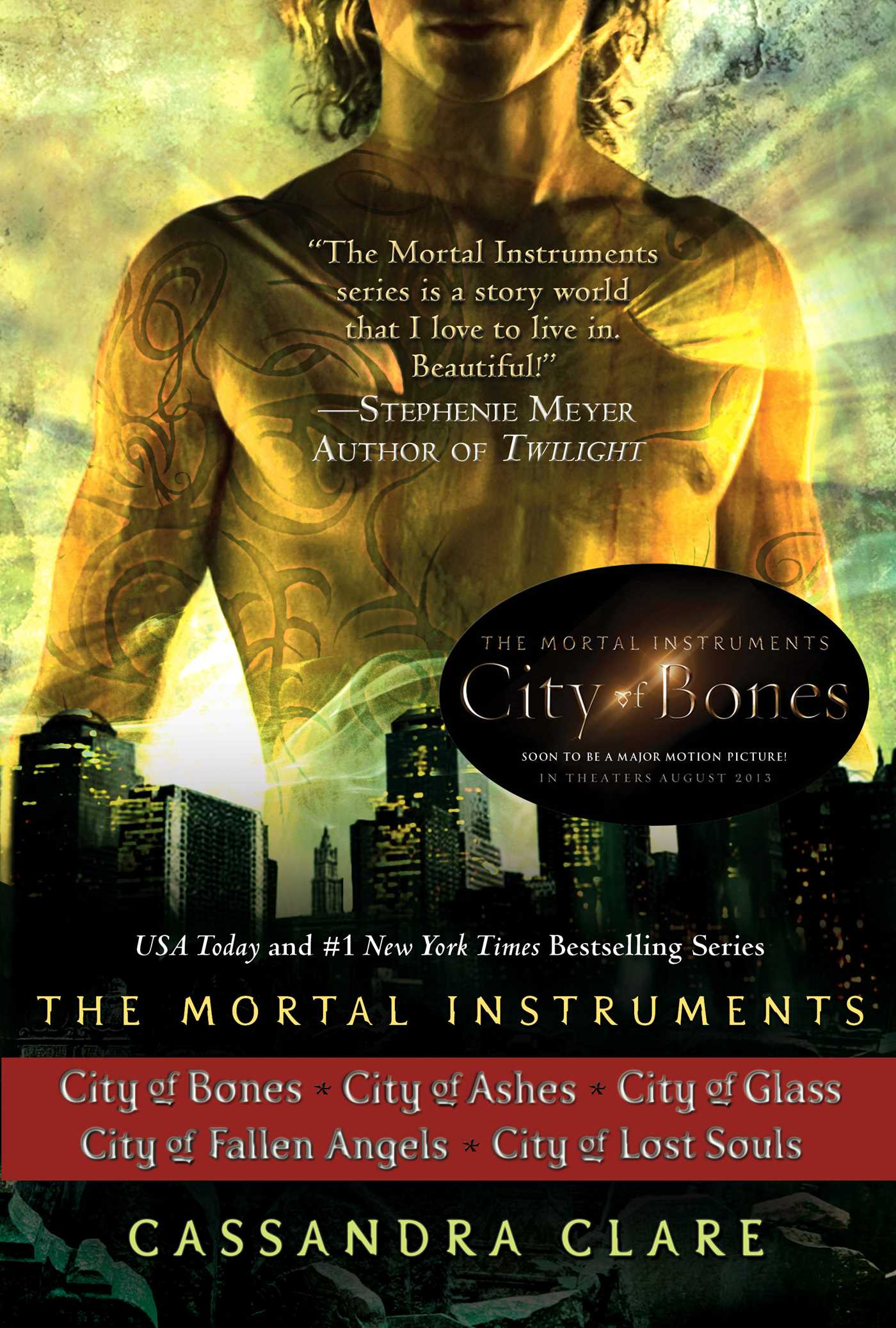 Cassandra clare the mortal instruments series 5 books 9781442481015 hr