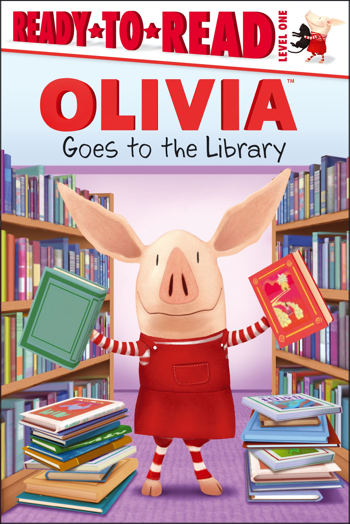 Olivia goes to the library 9781442484788 hr