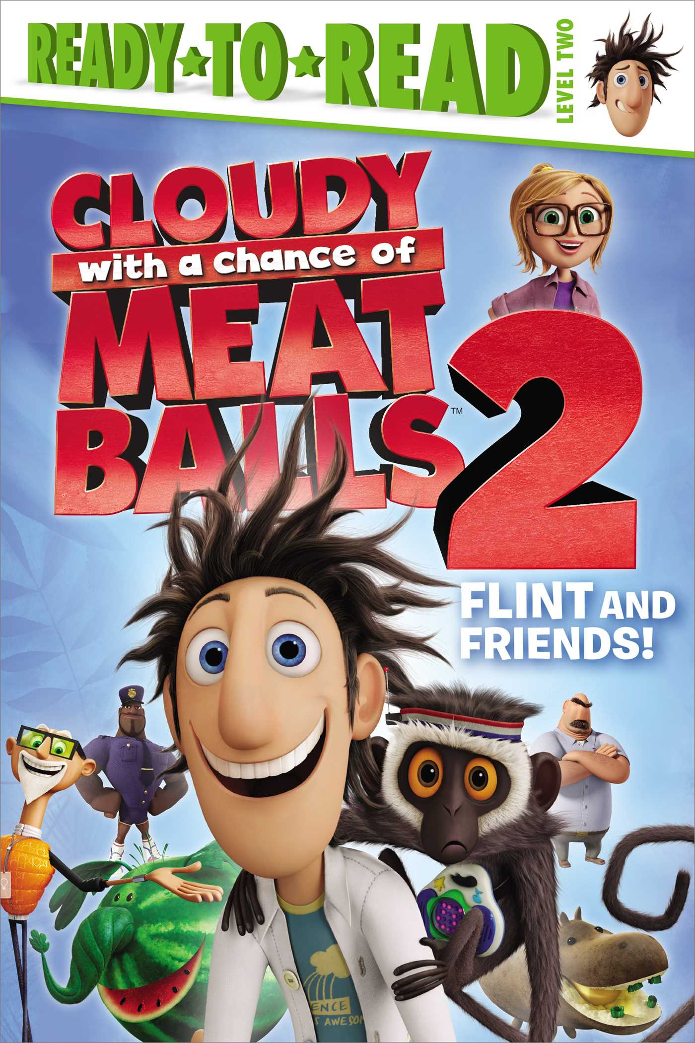 Cloudy With A Chance Of Meatballs Movie Cover