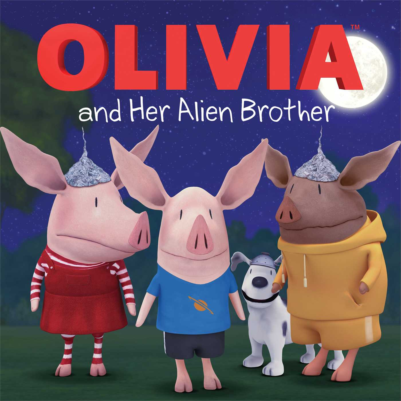 Olivia and her alien brother 9781442497498 hr