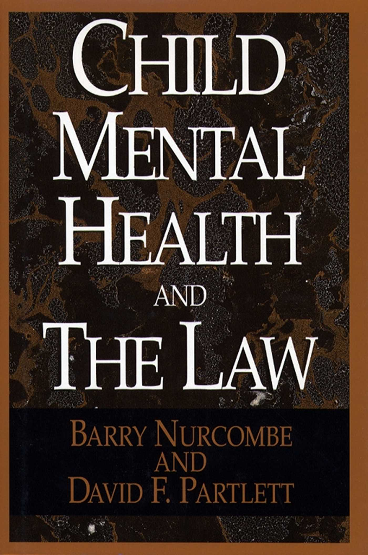 Child mental and the law 9781451602449 hr