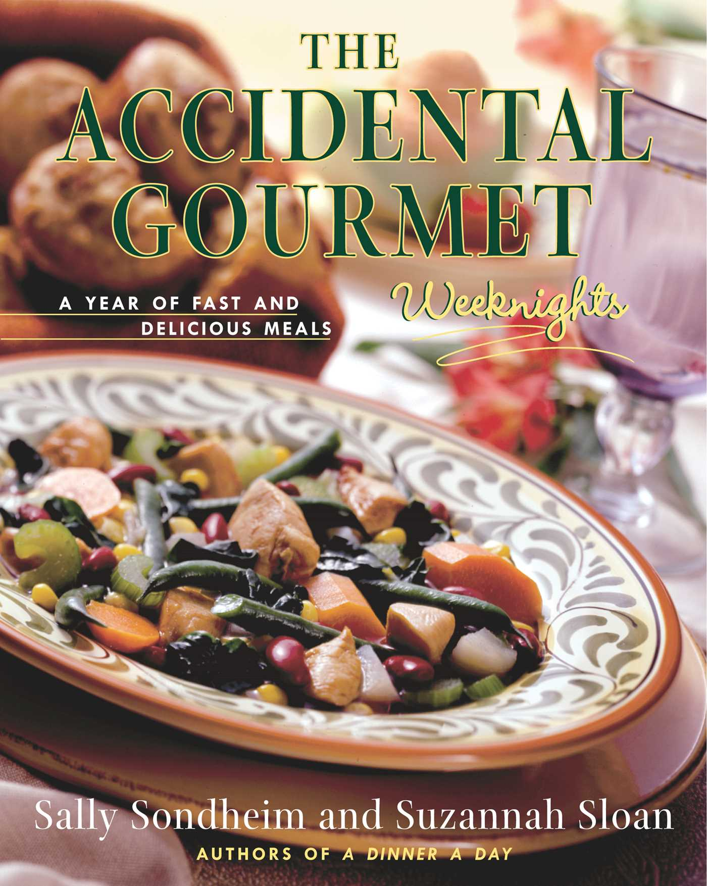 The accidental gourmet weeknights 9781451603316 hr