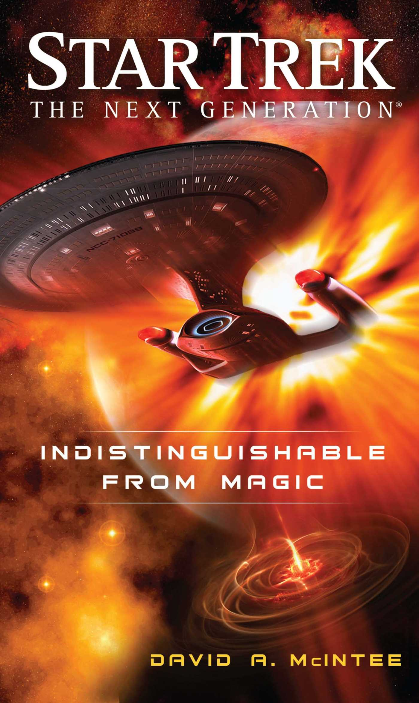 Star trek the next generation indistinguishable from magic 9781451606287 hr