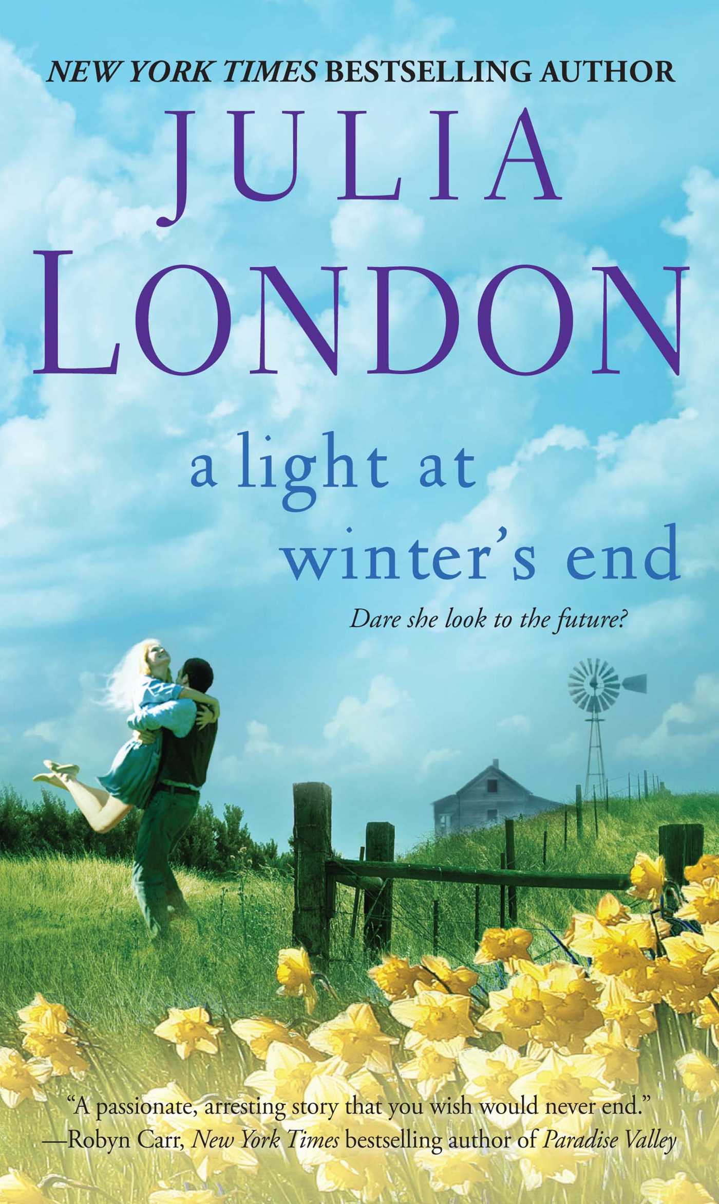 A light at winters end 9781451606881 hr