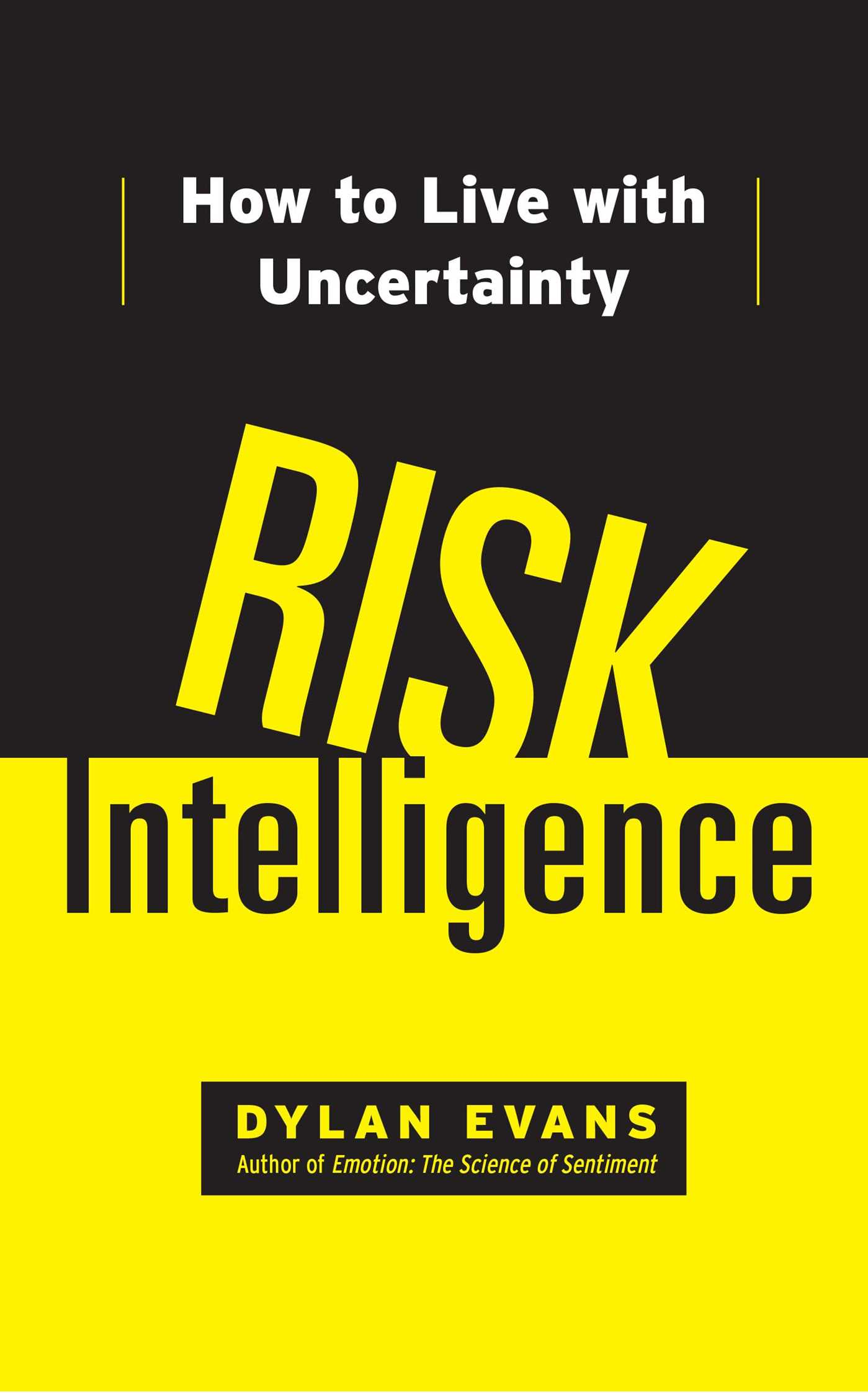 Risk intelligence 9781451610918 hr