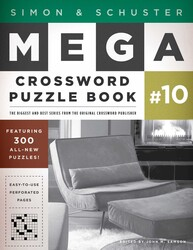 Simon & Schuster Mega Crossword Puzzle Book #10