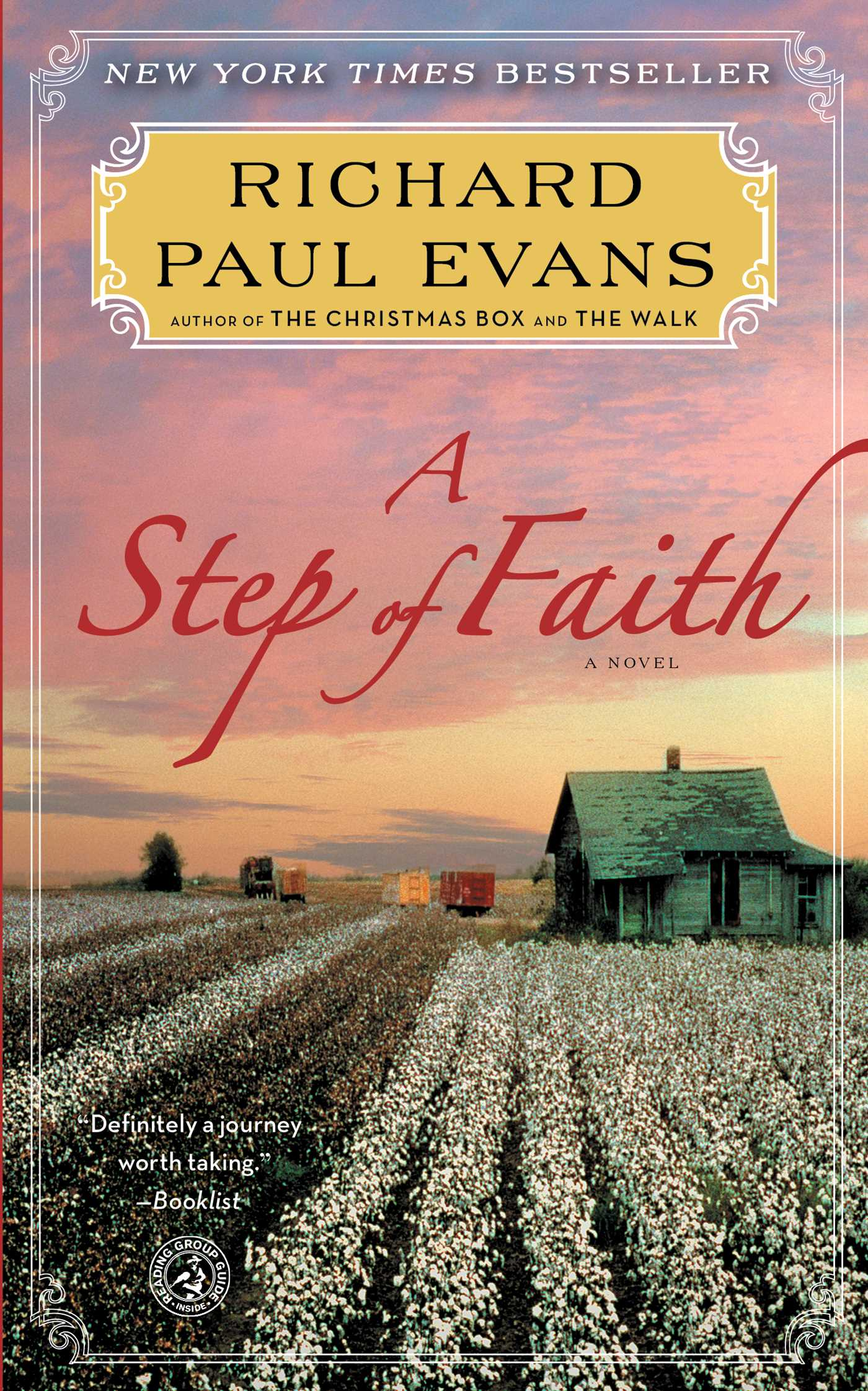 A step of faith 9781451628302 hr