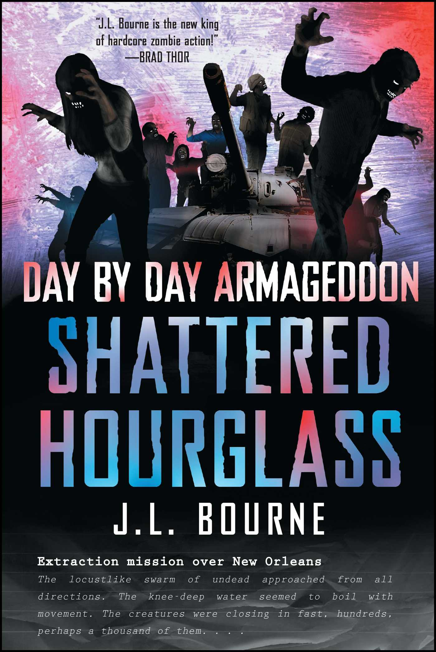 Day by day armageddon shattered hourglass 9781451628814 hr