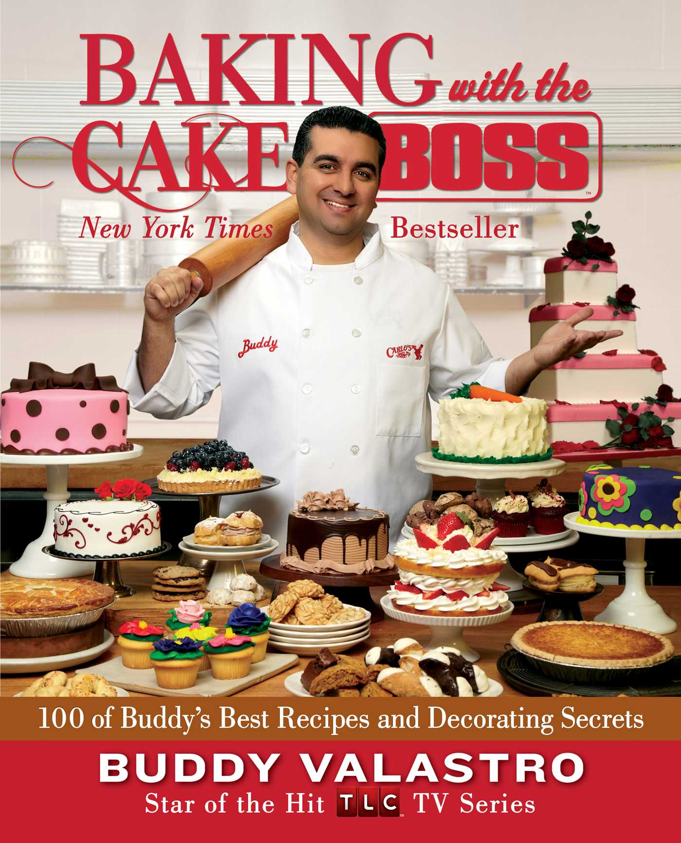 Baking with the cake boss 9781451628913 hr