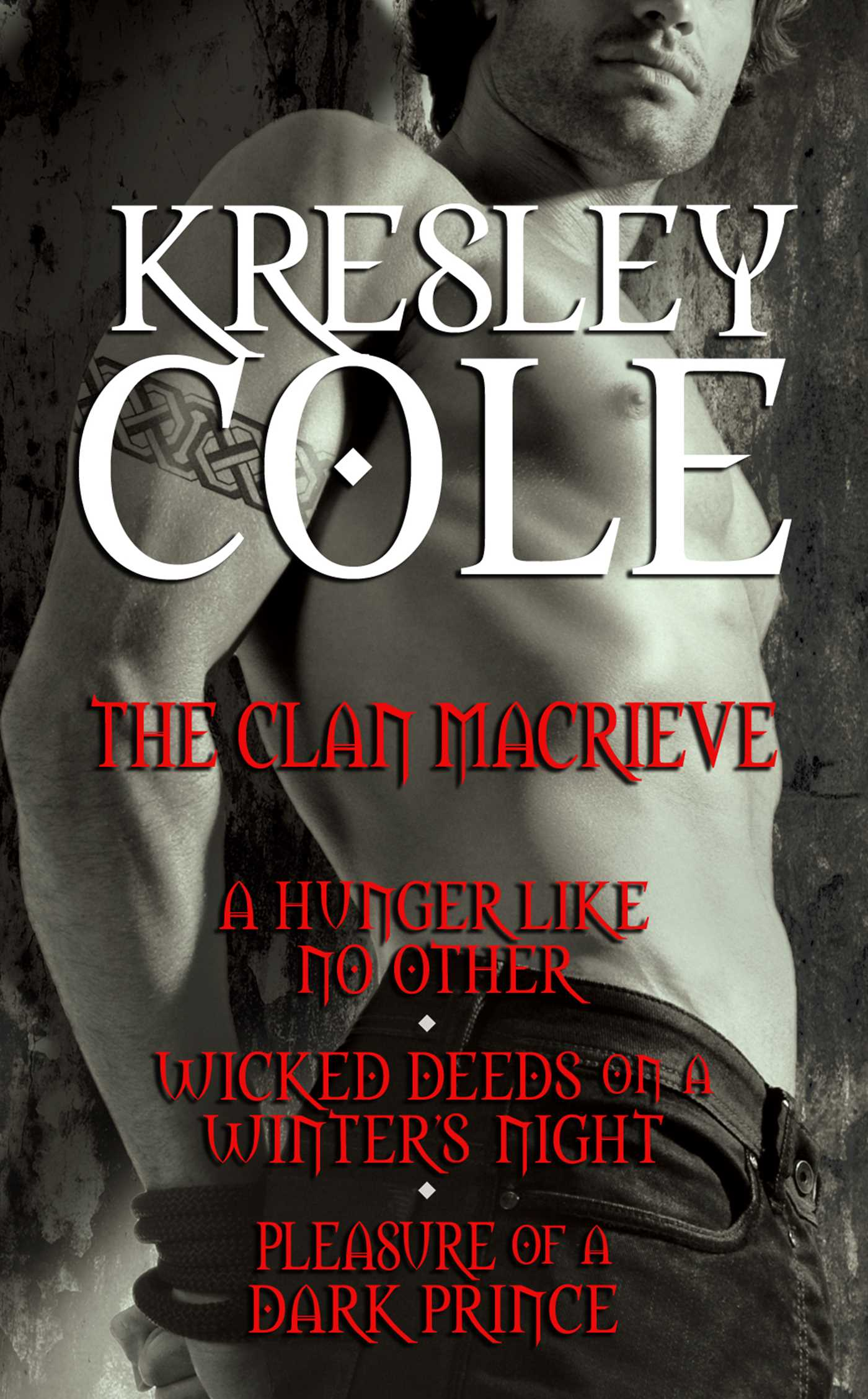 Kresley cole immortals after dark the clan macrieve 9781451640151 hr