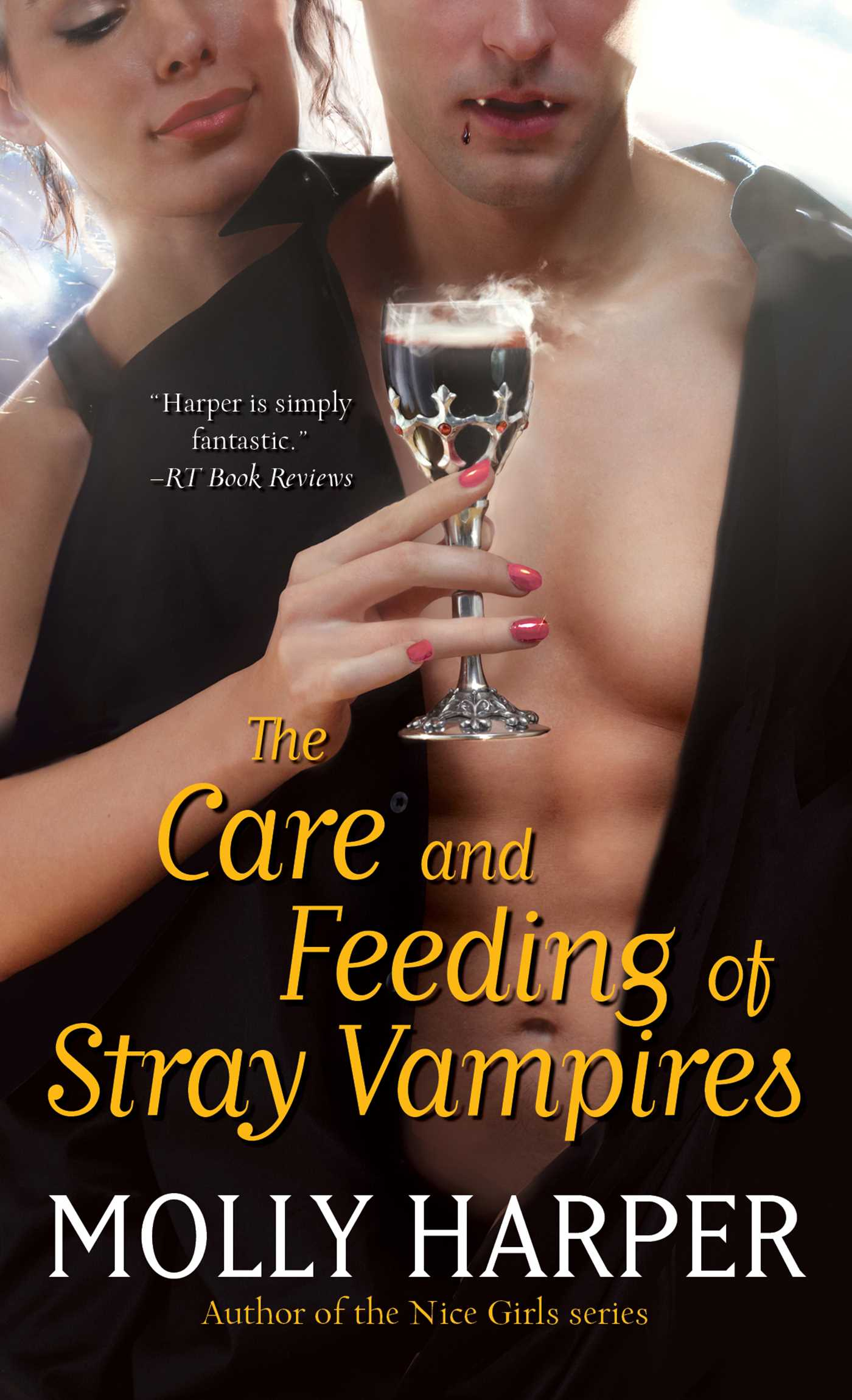 The care and feeding of stray vampires 9781451641875 hr