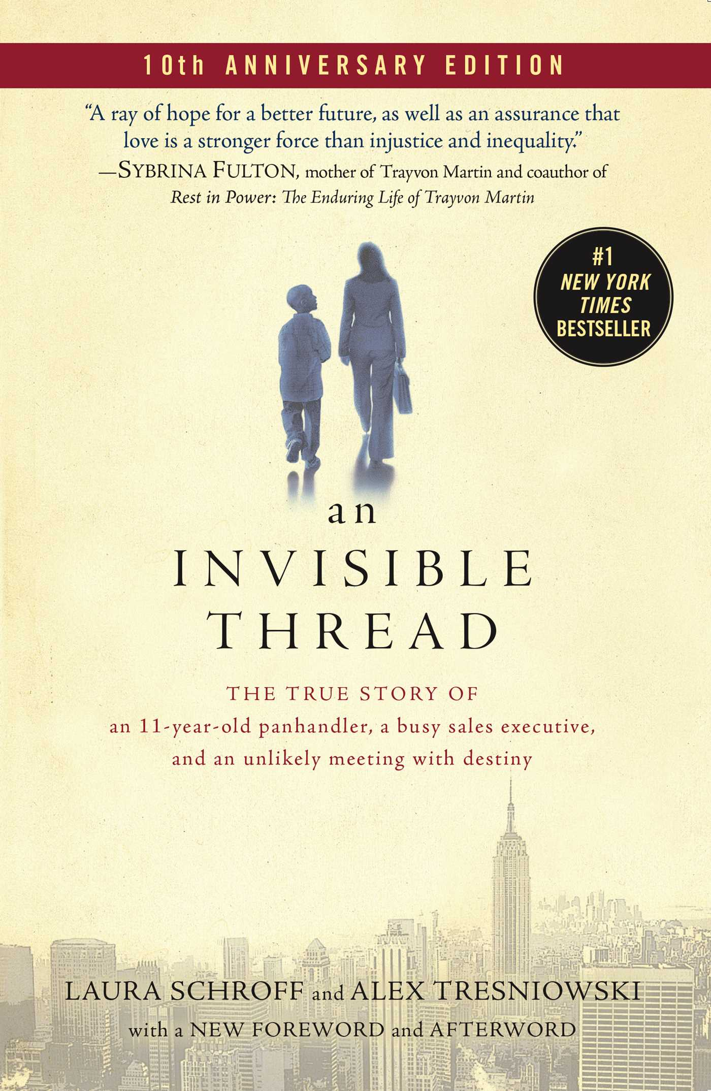An invisible thread 9781451642926 hr