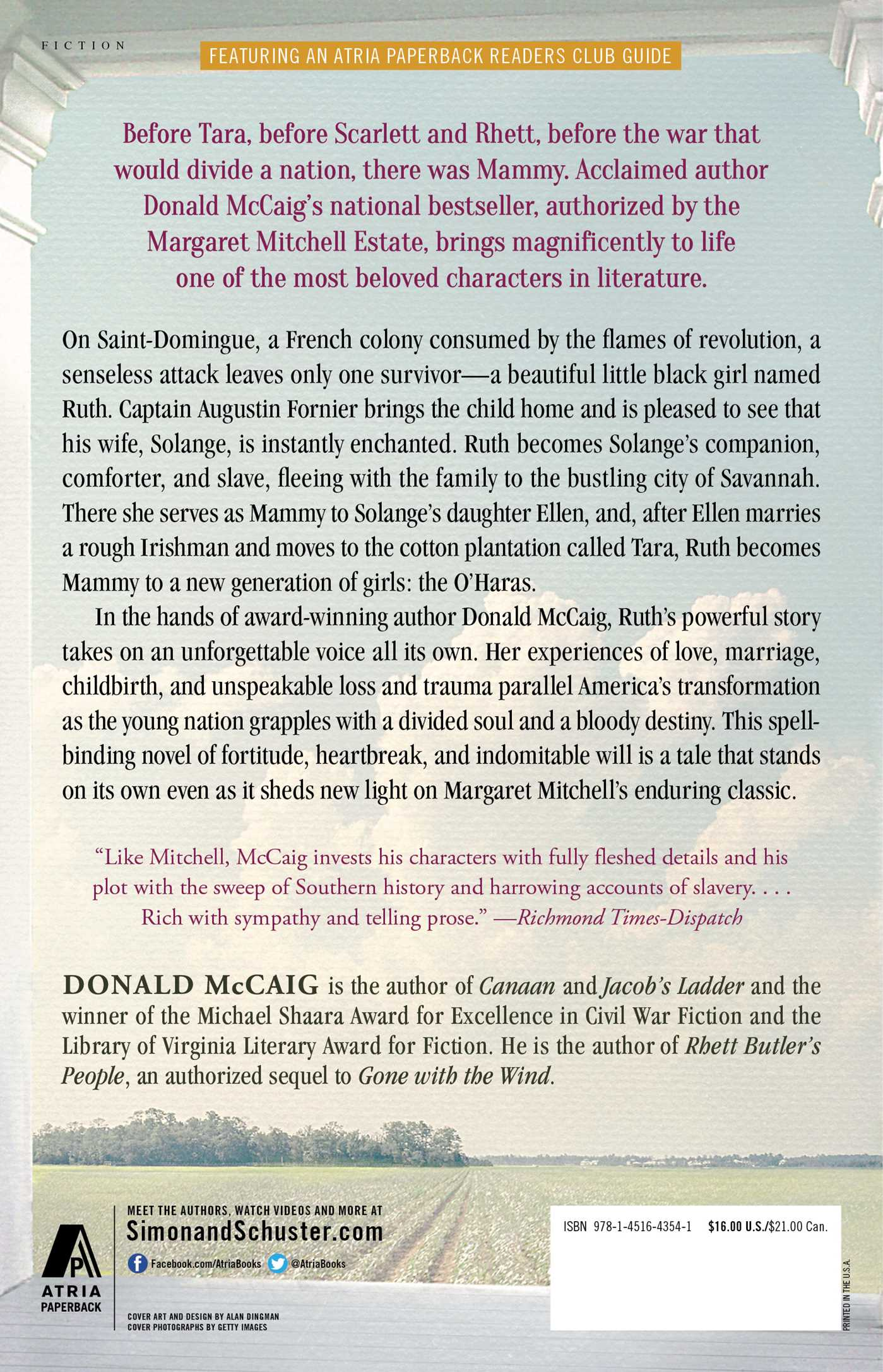Ruth's Journey  Book By Donald Mccaig  Official Publisher Page  Simon &  Schuster